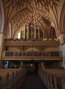 Inside St John's Church