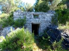 The bunker entrance