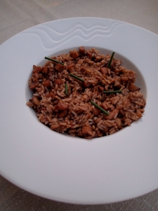 Cuttlefish Risotto