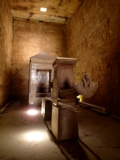 Inside Edfu Temple