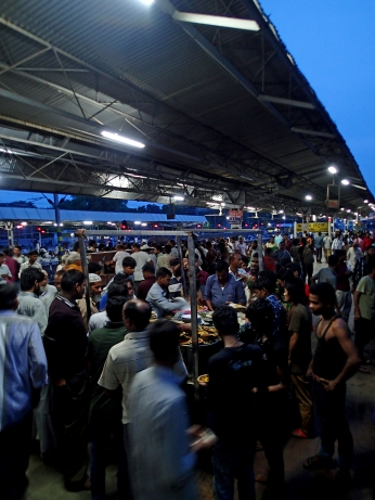 Platform food is popular